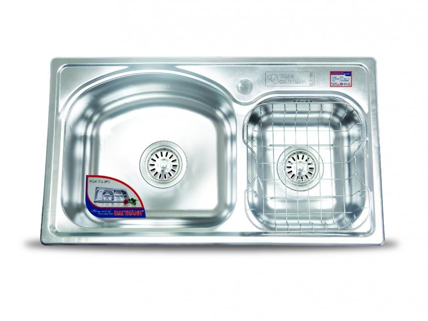 Chậu rửa inox 304 Đại Thành - siêu bền giá rẻ